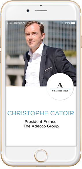 intervenants Christophe Catoir, Président France The Adecco Group
