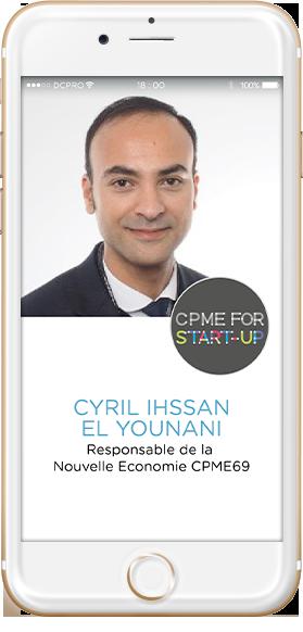 Cyril Ihssan El Younani, CPME69
