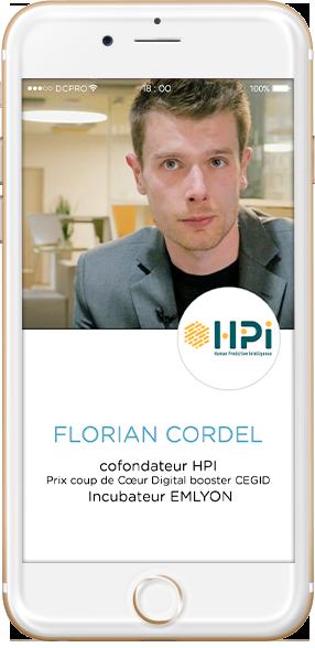 Florian Cordel, CoFondateur HPI