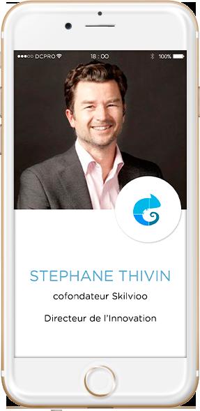 intervenants Stéphane Thivin, co-fondateur Skilvioo