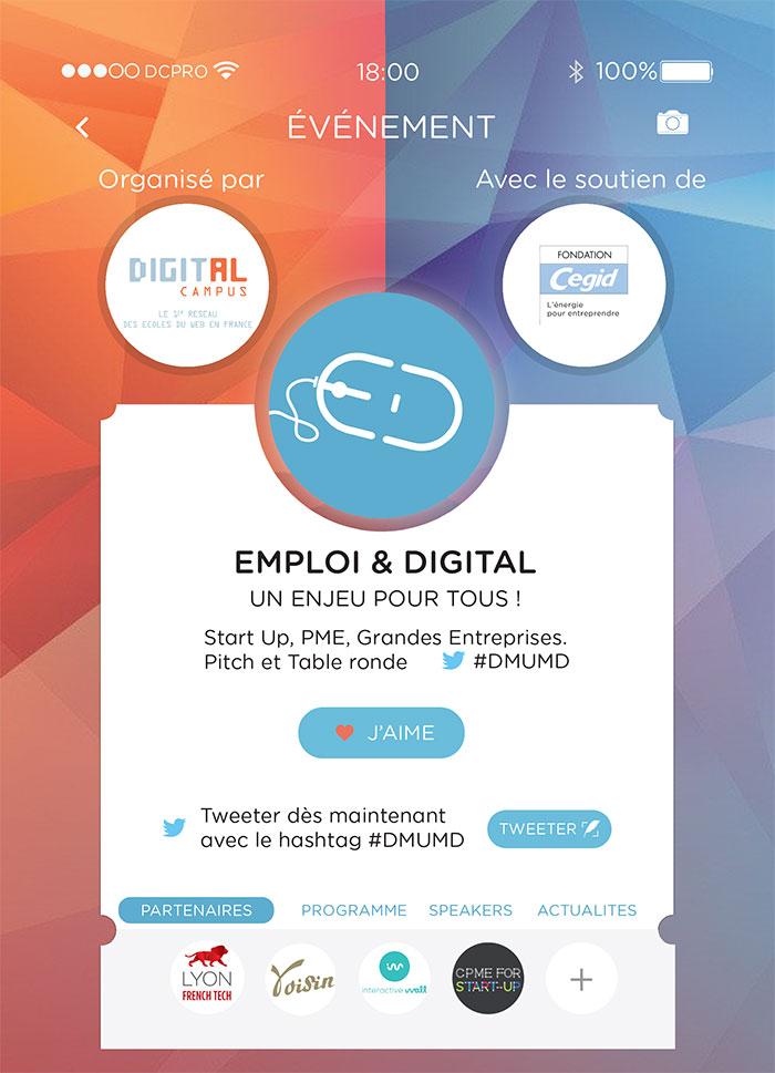 Emploi & Digital - invitation - Digital Campus